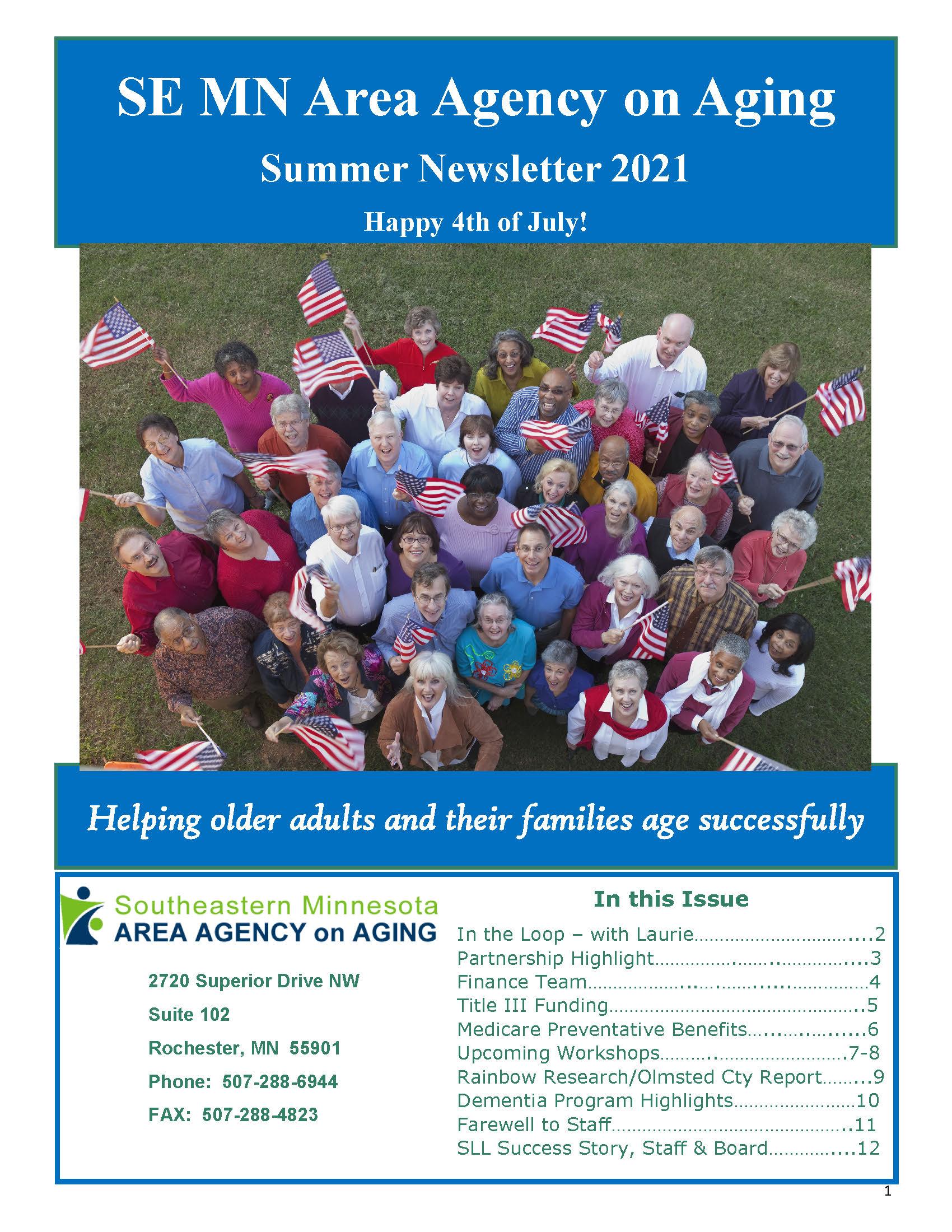 SEMAAA Summer 2021 Newsletter